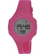 Puma PU911092010 Twist S Pink Silicone Strap Watch