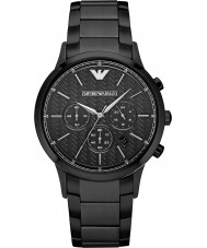 Emporio Armani AR2485 Mens Classic Chronograph Black Watch