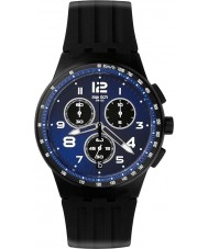 Swatch SUSB402 Chrono Plastic - Nite Speed Watch
