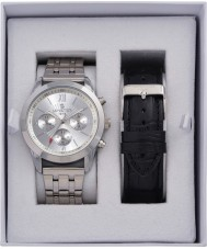 minster MN-SET12 Mens Watch and Strap Gift Set