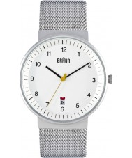 Braun BN0032WHSLMHG Mens Silver White Watch