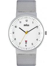 Braun BN0032WHSLMHG Mens Silver White Watch