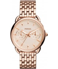 Fossil ES3713 Ladies Tailor Rose Gold Plated Bracelet Watch