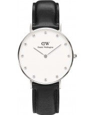 Daniel Wellington DW00100080 Ladies Classy Sheffield 34mm Silver Watch
