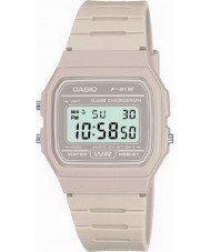 Casio F-91WC-8AEF Mens Retro Collection Stone Chronograph Watch