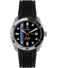 Rotary AGS90080-W-04 Mens Aquaspeed Black Automatic Watch