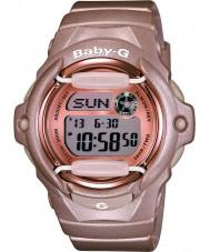 Casio BG-169G-4ER Ladies Baby-G Telememo World Time Pink Resin Strap Watch