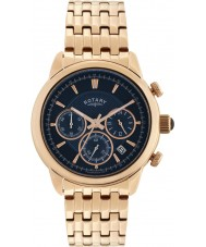 Rotary GB02879-05 Mens Timepieces Monaco Rose Gold Chronograph Watch