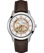 Bulova 96A172 Mens Automatic Black Chronograph Watch