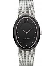 Danish Design Ladies Silver Steel Mesh Bracelet Watch
