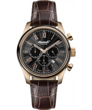 Ingersoll INQ040BKRS Mens Brown Chronograph Watch