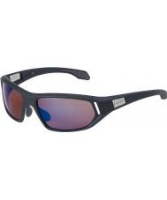 Bolle Cervin Satin Dark Grey Rose Blue Sunglasses
