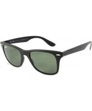 Ray-Ban RB4195 52 Wayfarer Liteforce Matte Black 601S9A Polarized Sunglasses