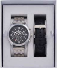 minster MN-SET13 Mens Watch and Strap Gift Set