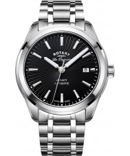 Rotary GB90165-04 Mens Timepieces Legacy Silver Steel Bracelet Watch