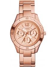 Fossil ES3815 Ladies Stella Rose Gold Plated Bracelet Watch