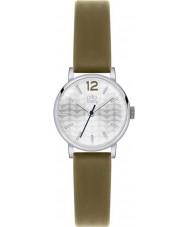 Orla Kiely OK2045 Ladies Frankie Olive Leather Strap Watch