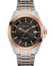 Bulova 98B268 Mens Precisionist Two Tone Steel Bracelet Watch