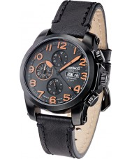 Ingersoll IN2301BBKO Mens Pomo Black Leather Strap Watch