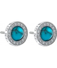 Emozioni DE462 Ladies Giove Turquoise Sterling Silver Earrings