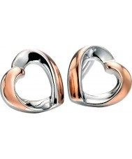 Fiorelli E5086 Ladies Fluid Lines Earrings