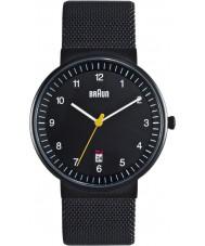 Braun BN0032BKBKMHG Mens All Black Watch