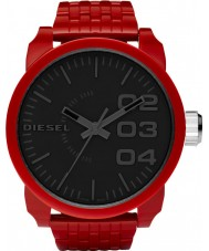 Diesel DZ1462 Mens Franchise Black Red Watch