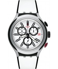 Swatch YYS4005 Irony X-Lite Black Wheel Watch