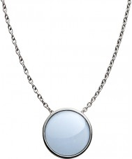 Skagen SKJ0790040 Ladies Sea Glass Silver Steel Polished Necklace