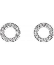 Emozioni DE408 Ladies Saturno Sterling Silver Earrings