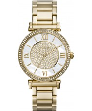 Michael Kors MK3332 Ladies Catlin Gold Plated Watch