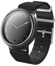 Misfit MIS5000 Phase Black Silicone Watch Compatible with Android and iOS