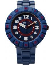 Flik Flak FCSP040 Boys Seriously Navy Blue Silicone Strap Watch