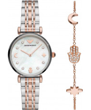 Emporio Armani AR80037 Ladies Watch and Bracelet Gift Set