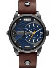 Diesel DZ7339 Mini Daddy Black IP Brown Multifunction Watch