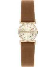 Orla Kiely OK2046 Ladies Cecelia Gold Plated Tan Leather Strap Watch