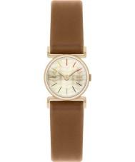 Orla Kiely OK2046 Ladies Cecelia Gold Plated Tan Leather Strap Watch