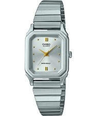 Casio LQ-400D-7AEF Ladies Core Silver Steel Bracelet Watch