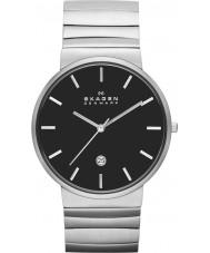Skagen SKW6109 Mens Ancher Silver Tone Steel Link Bracelet Watch