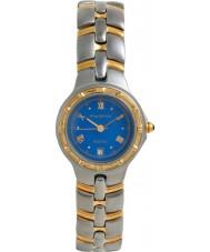 Krug Baümen 2615KL Ladies Regatta Blue Silver Gold Watch