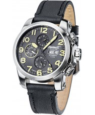 Ingersoll IN2301SBK Mens Pomo Black Leather Strap Watch