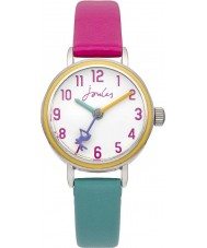 Joules JS014 Girls Mixed Colour Rubber Strap Watch