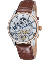 Thomas Earnshaw ES-8006-08 Mens Longitude Brown Croco Leather Strap Watch