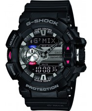 Casio GBA-400-1AER Mens G-Shock Black Bluetooth Combi Watch