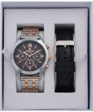 minster MN-SET15 Mens Watch and Strap Gift Set