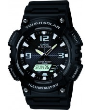 Casio AQ-S810W-1AVEF Collection Black Tough Solar World Time Watch