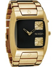 Nixon A060-1510 Banks Chronograph Gold Watch