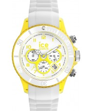 Ice-Watch Unisex Ice-Party White and Yellow Watch