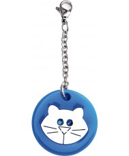 I Puppies PY-001 Cat Blue Small Medallion