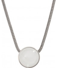 Skagen SKJ0080040 Ladies Sea Glass Silver Steel Necklace